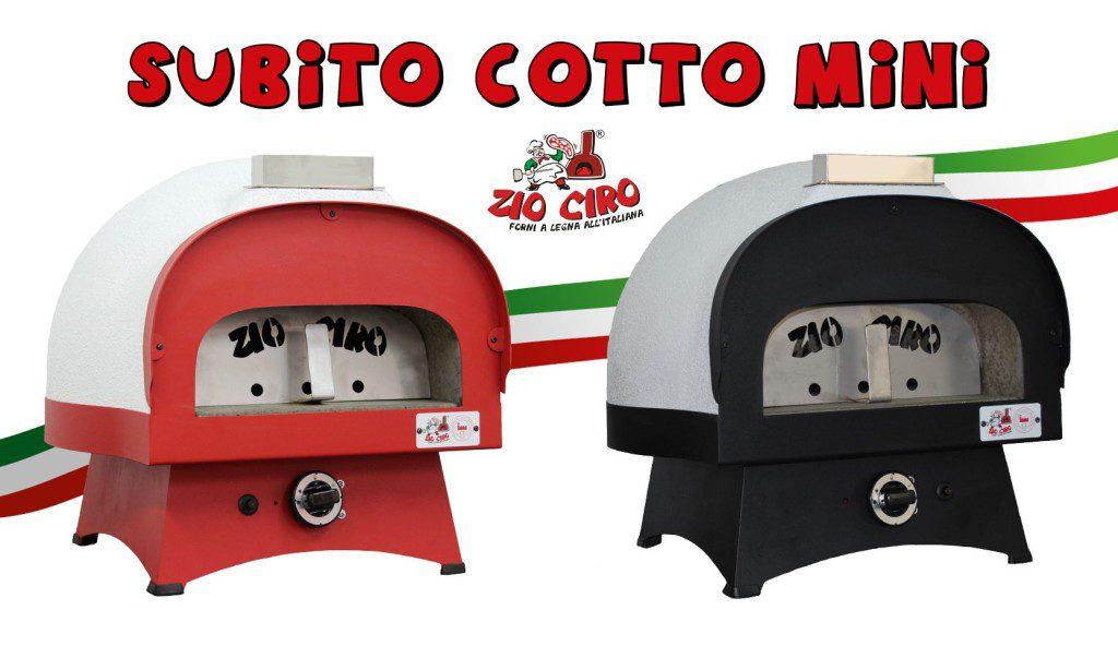Subito Cotto MINI Red-Black