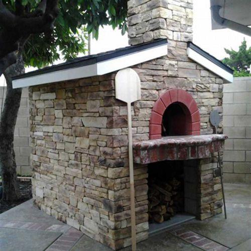 Forni a legna all 39 italiana zio ciro forno a legna per pizza - Forno per pizza da giardino ...