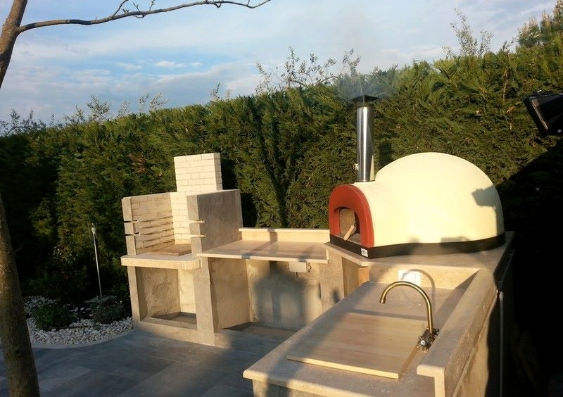 subito cotto 80 wood gas wood fired pizza oven zio ciro