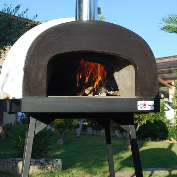 Subito Cotto 80 Wood Gas Wood Fired Pizza Oven Zio Ciro