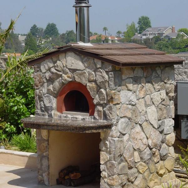 Forno a legna domestico ischia per pizza zio ciro forni for Forno zio ciro