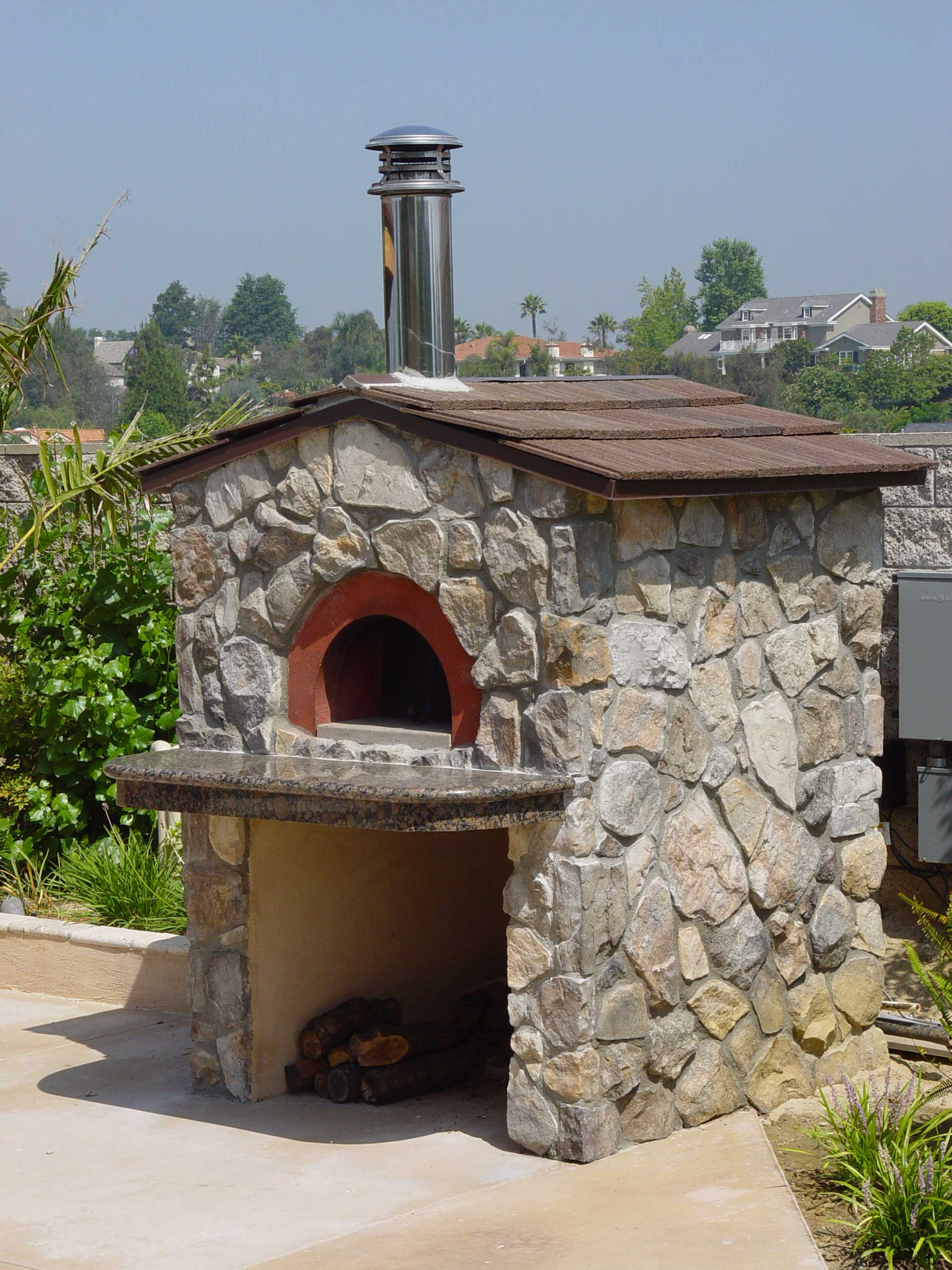 Ischia Wood Fired Oven For Pizza Zio Ciro Italian Wood