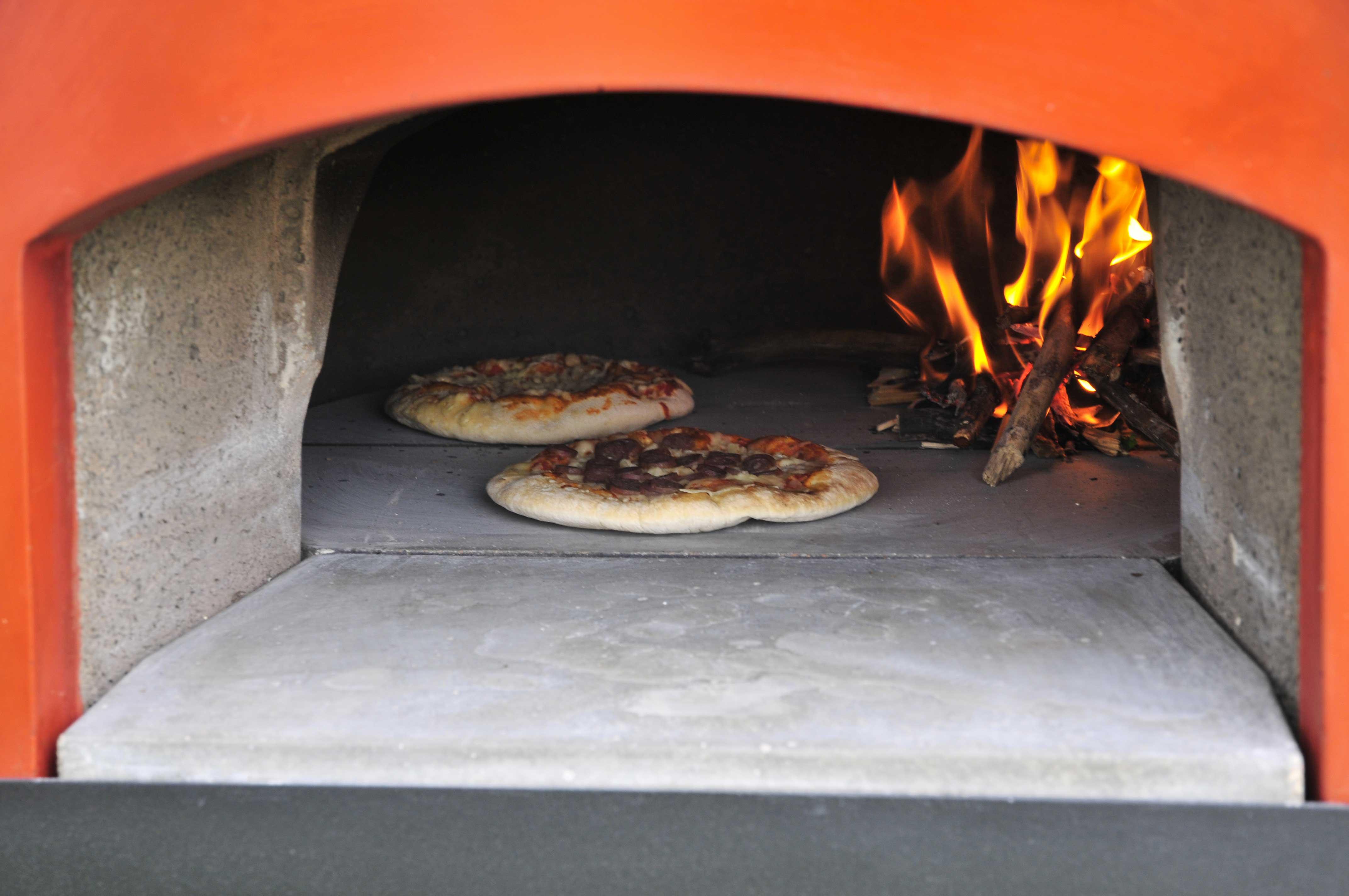 Forno a legna per pizza subito cotto 60 zio ciro forni a - Temperatura forno a legna pizza ...