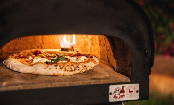 Forno A Gas Per Pizza Subito Cotto Mini Zio Ciro Forni A