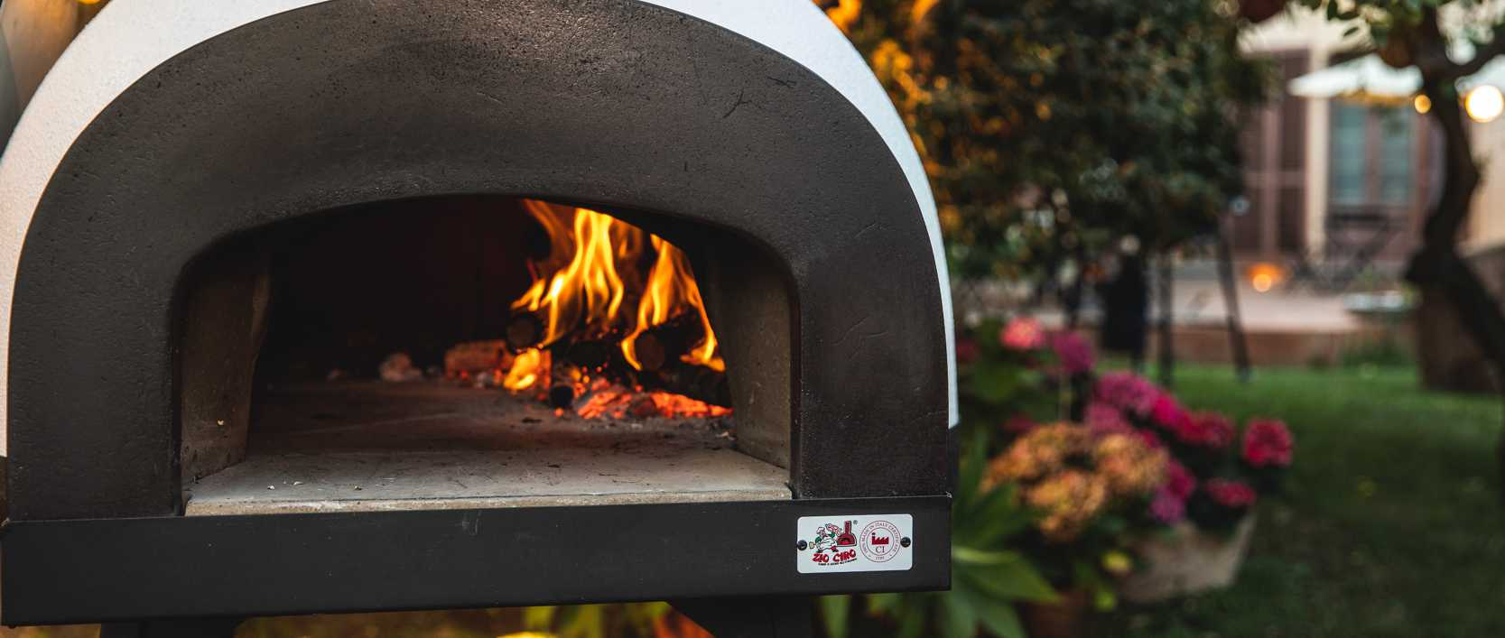 A REAL PIZZA OVEN FOR YOUR BACKYARD